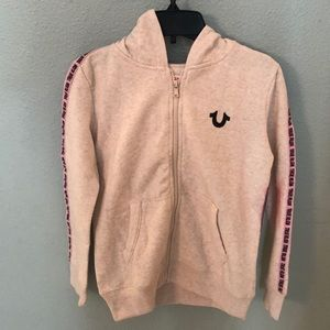 True Religion Girls Hoodie Size Med NWT
